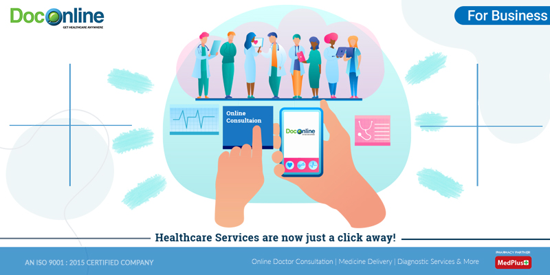 Scope for Online Healthcare Services & Solutions in Corporate India