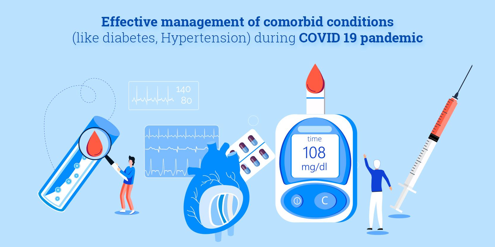 Managing comorbidities during COVID 19