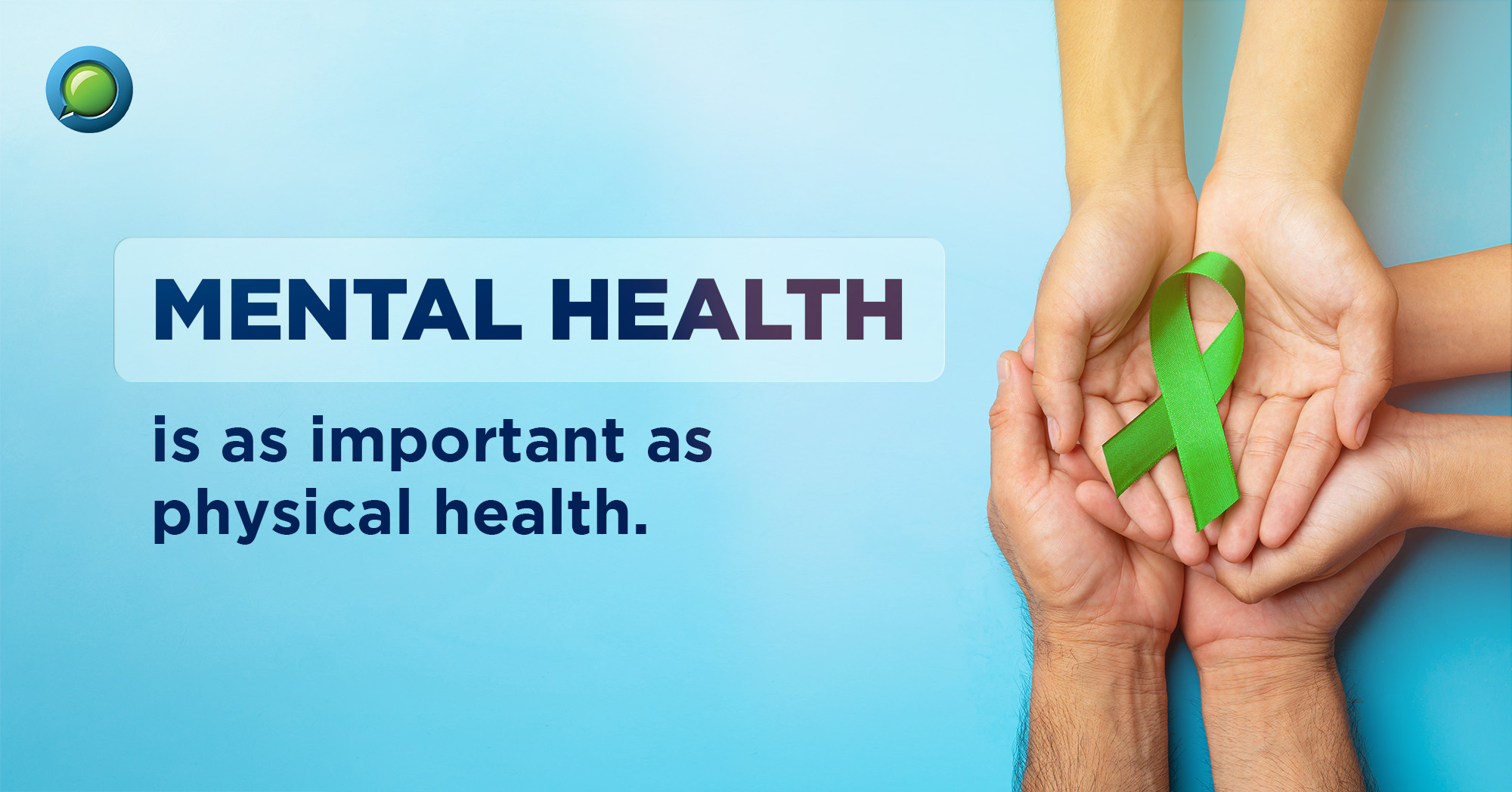 Don't ignore your mental health